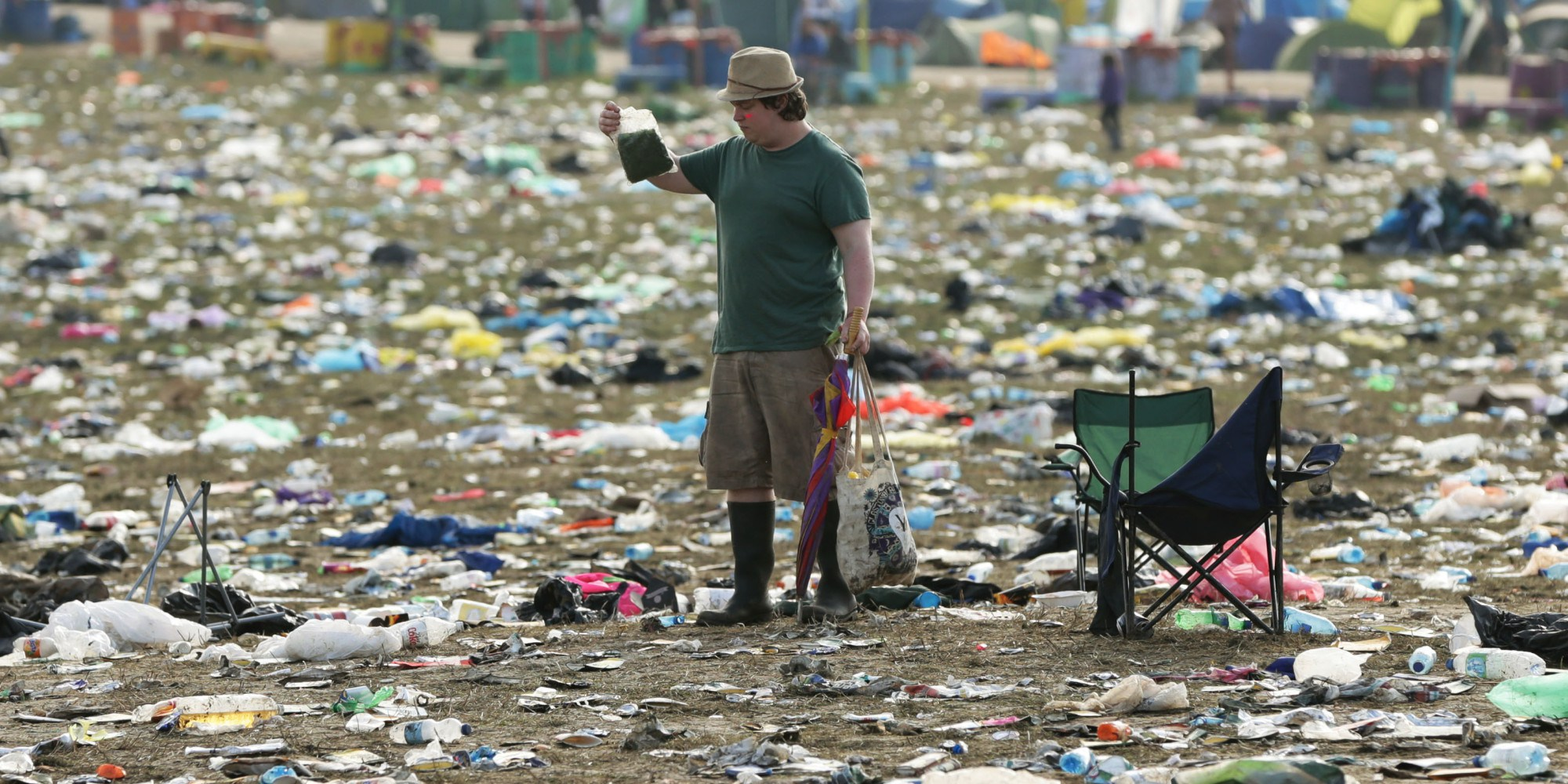 How to Festival without a trace